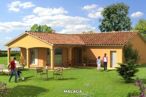 Constructeur Maisons D'en France Bourgogne - Modèle MALAGA