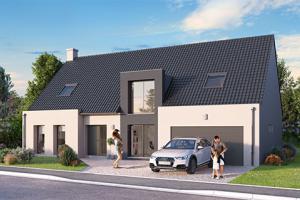 Constructeur Maisons D'en France Haute-normandie - Modèle MAYA