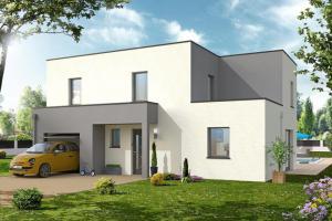Constructeur Maisons D'en France Haute-normandie - Modèle MINERAL
