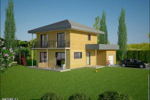 Constructeur Maisons Et Chalets Des Alpes - Modèle Nature 5,1