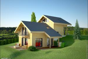 Constructeur Maisons Et Chalets Des Alpes - Modèle Nature 7,1
