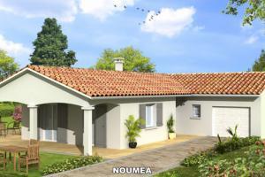 Constructeur Maisons D'en France Bourgogne - Modèle NOUMEA