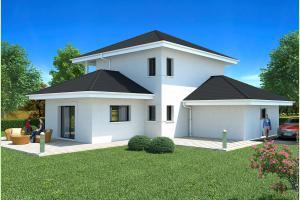 Constructeur Maisons Et Chalets Des Alpes - Modèle Omicron