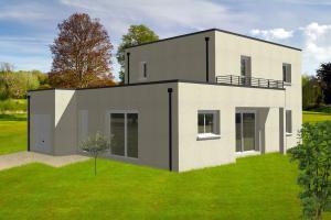 Constructeur Constructions Ideale Demeure - Modèle PERCE NEIGE C2G-110
