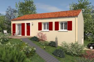 Constructeur Viv'home La Rochelle - Modèle Prima sous-sol 77
