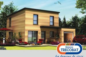 Constructeur Maisons Trecobat - Modèle Tendance 4 Bois