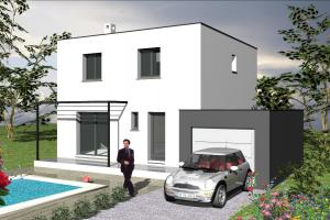 Constructeur Les Toits De France - Modèle Turquoise moderne
