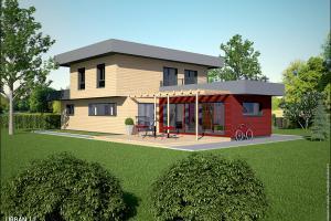 Constructeur Maisons Et Chalets Des Alpes - Modèle Urban 1,1